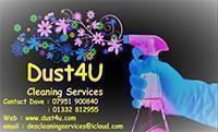 Dust4U Cleaning Services logo